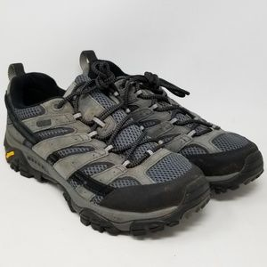 Merrell Moab 2 Waterproof Hiking Shoes Mens Sz 9